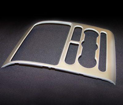 Automotive centerstack aluminum