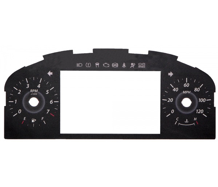 Automotive Gauge Cluster